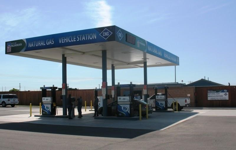 Compressed Natural Gas Fueling Station