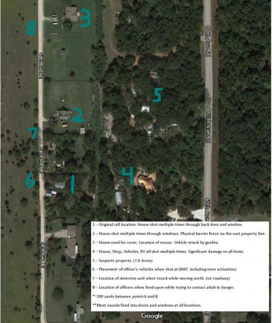 Map - March 28, 2021 Shooting Investigation