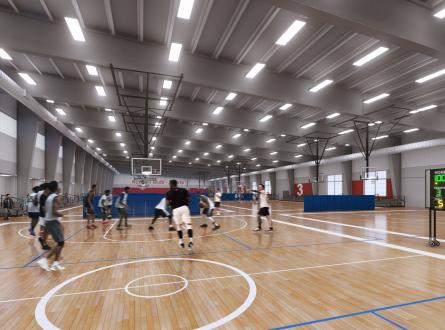 Norman Forward Multi Sports Center Render