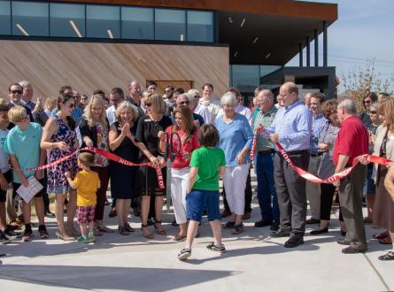Norman Public Library East Ribbon Cutting