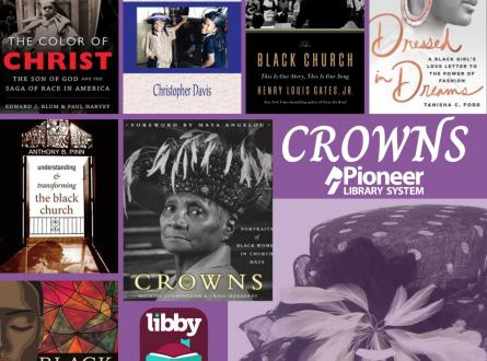 Book Recommendations Crowns: the color of christ, we too shall war a crown, the black church, dressed in dreams, understanding and transforming the black church, crowns, black madonna