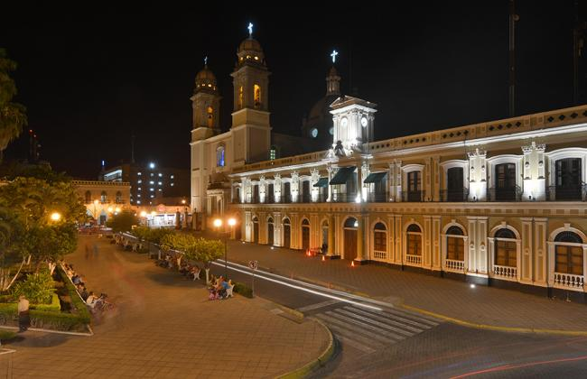 The Government Palace in Colima City, Mexico