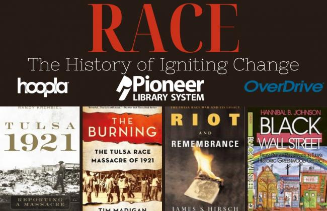 Book Recommendations about Race: Tulsa 1921, the burning, riot and remembrance, black wall street, death in a promised land, a few red drops, wes moore the firrery reckoning of an american city five days, riot