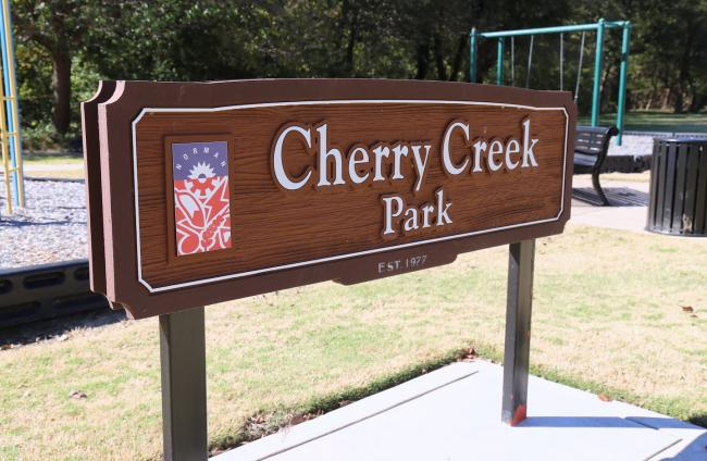 Cherry Creek Sign