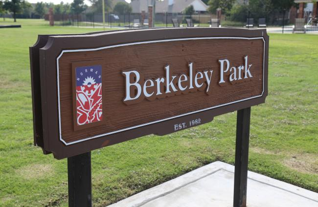 Berkley Park Sign