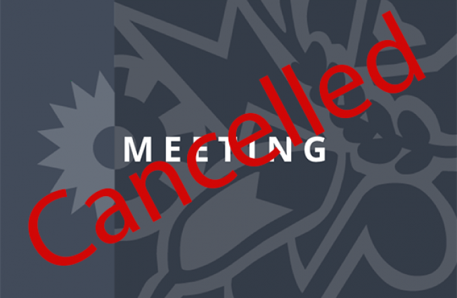 Meeting Cancelled pic