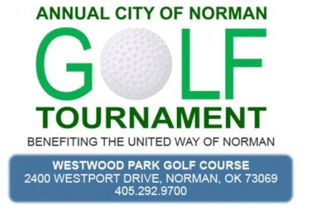 Annual City of Norman Golf Tournament Logo