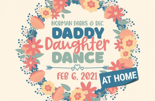 Daddy Daughter Dance @Home Logo Feb 6th, 2021